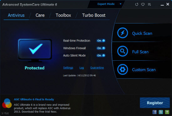 advanced systemcare ultimate license key free download