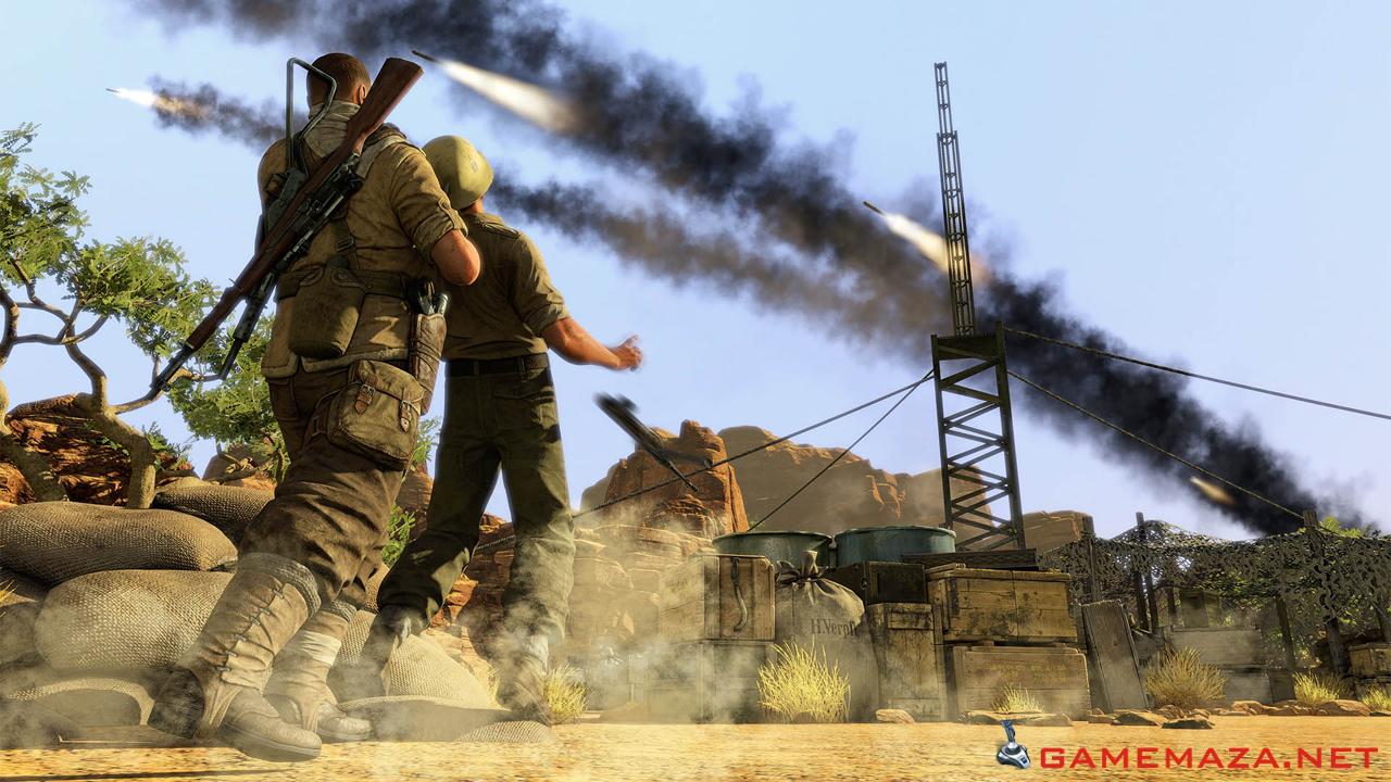 Sniper Elite 3 скачать торрент бесплатно на PC