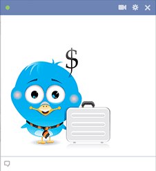 Business Bird Icon
