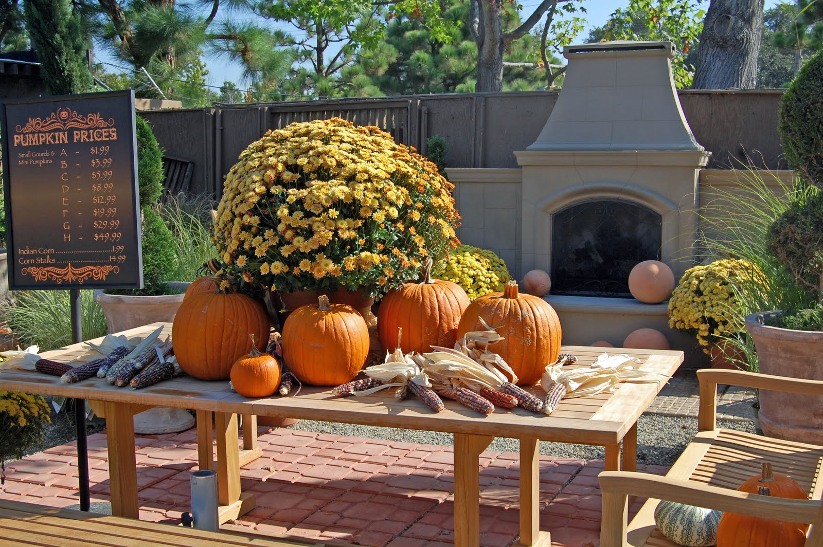 My Painted Garden: Fall Tour of Roger\'s Gardens