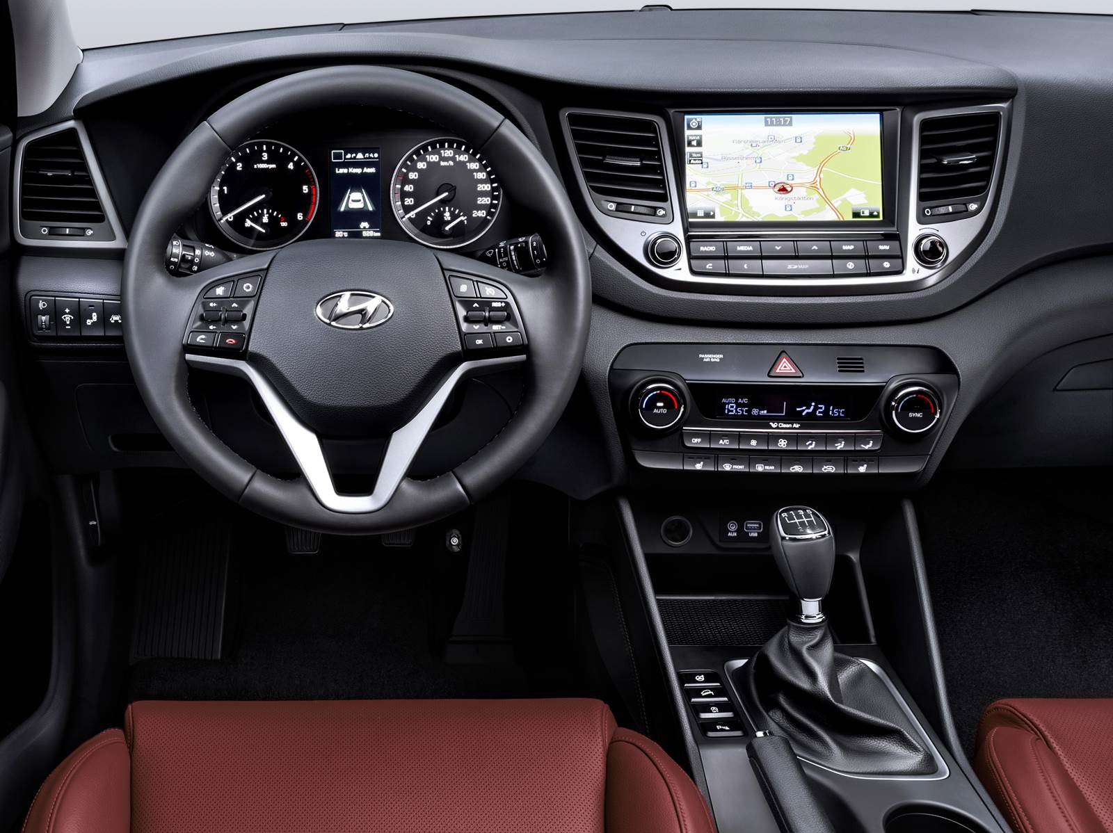 Novo Hyundai Tucson 2016 - painel