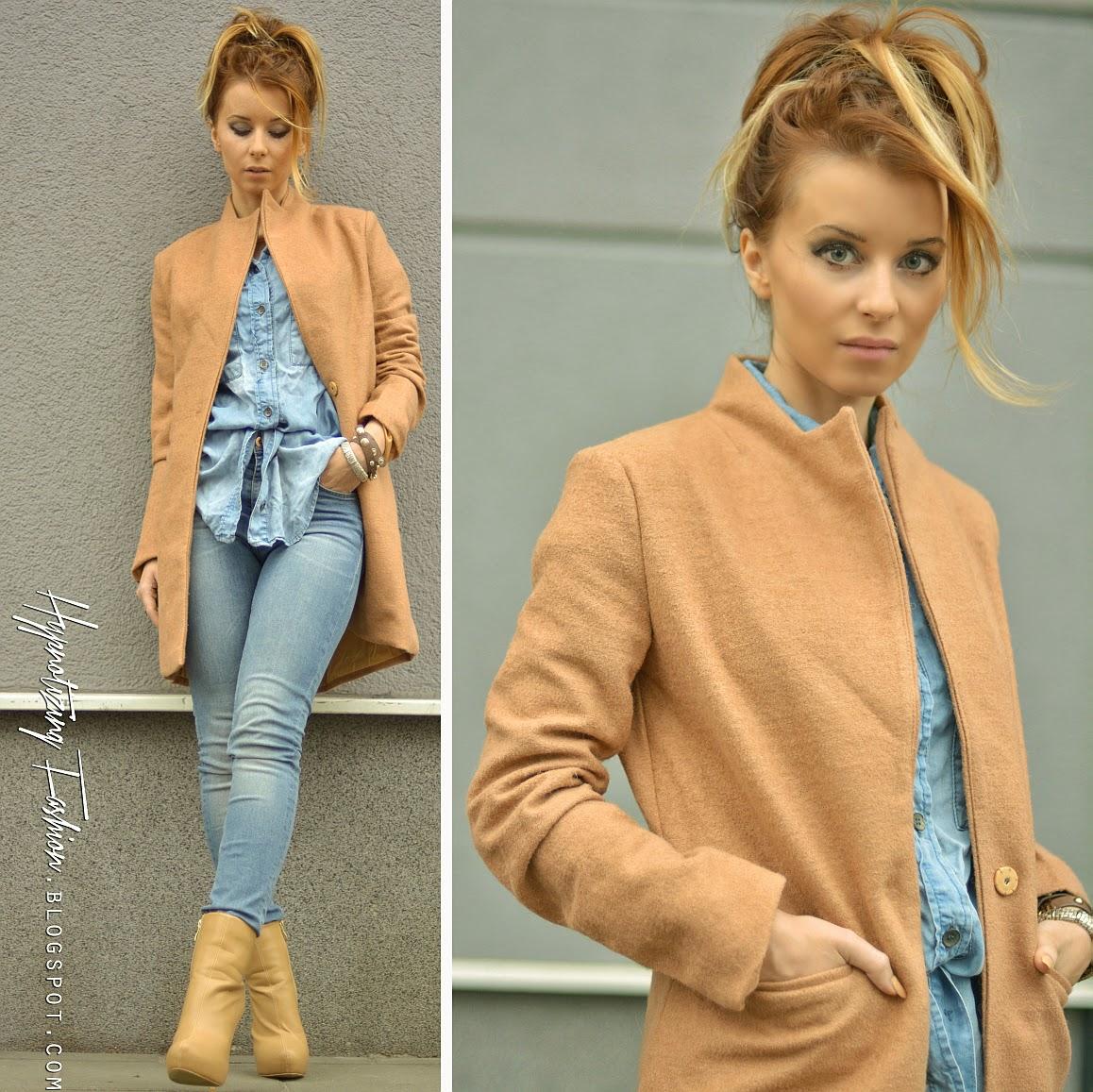 stylizacja płaszcz jesień 2014