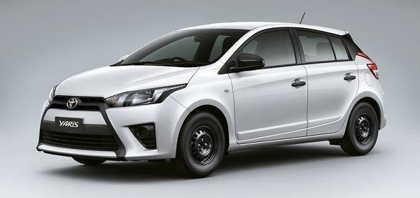Toyota Yaris 2014 màu trắng phiên bản mới G1.3 AT