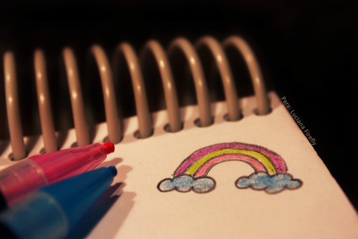 Rainbow colors in my soul ♥