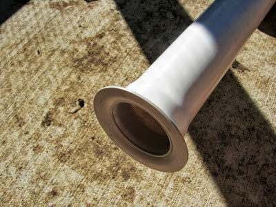 Flared PVC Pipe