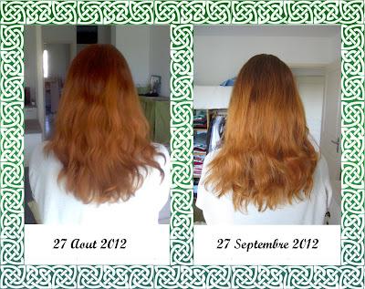 Pousse cheveux septembre