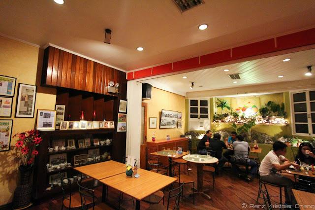 The Filipino inspired interior of Smalltalk with a modern twist