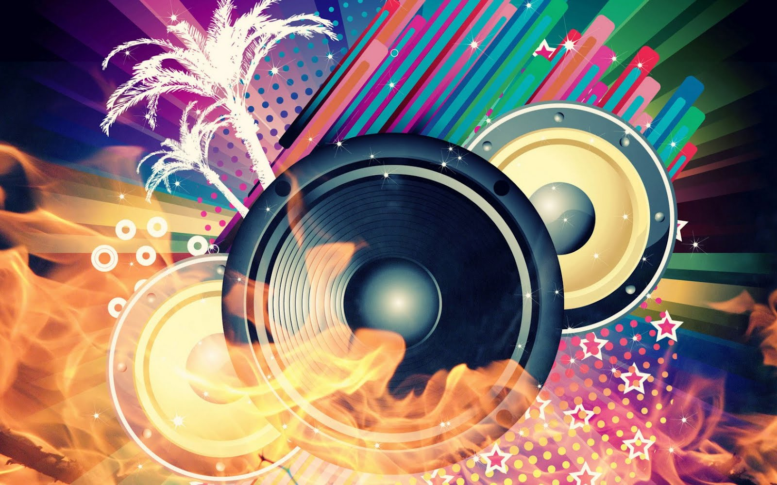 DJ Music Abstract Backgrounds