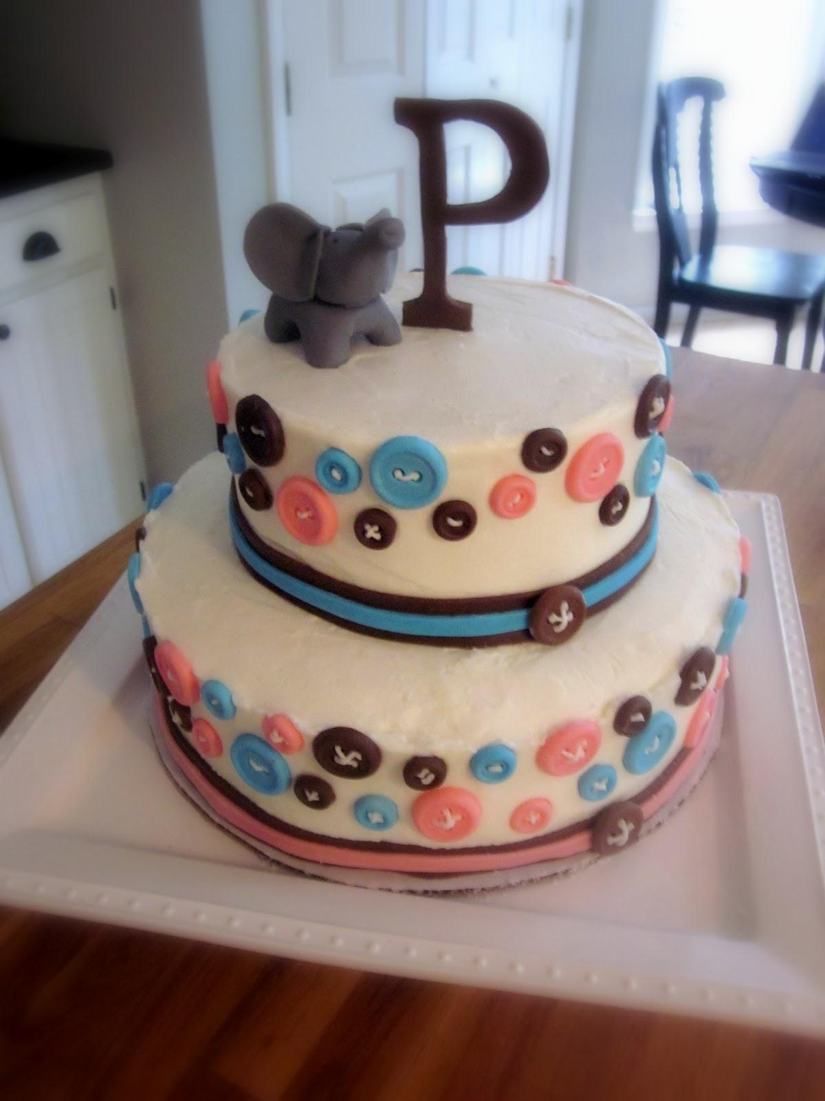 Darlin Designs Gender Reveal Cake