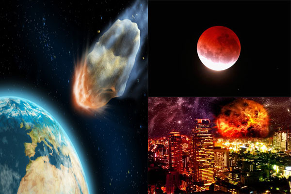 Will the world end on September 28? Blood Moon and asteroid impact 'are heralds of Apocalypse'