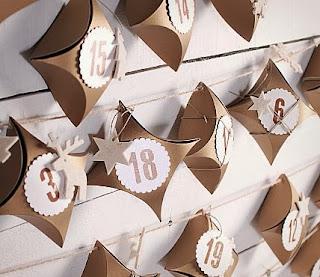 décoration de Noël handmade, où acheter un calendrier de l'avent