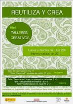 """TALLERES """"REUTILIZA Y CREA"""""""