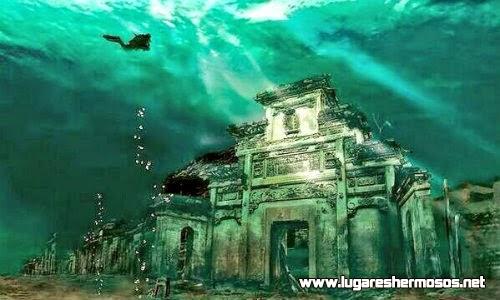 Ciudad sumergida de Shicheng