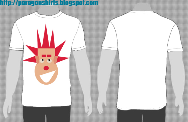 wreck-it Ralph Shirt Design Spiky Hair Edition