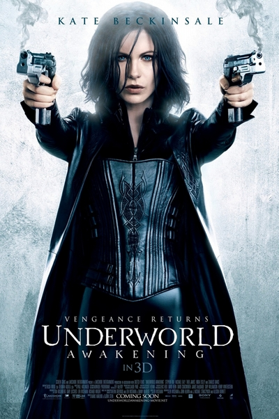 Underworld Awakening Movie Poster Kate Beckinsale