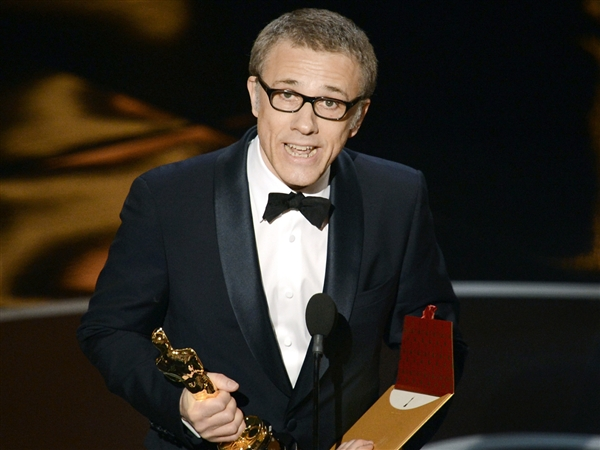Christoph Waltz picks up second oscar