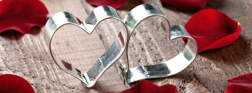 Metal hearts facebook cover