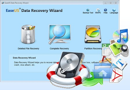 easeus data recovery software free  full version