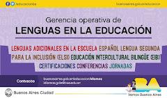 Gerencia Operativa de Lenguas en la Educación, Ministerio de Educación, C.A.B.A.