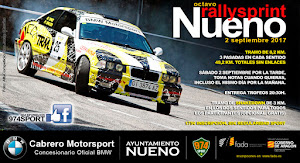 NEXT EVENTS: 9 Rallysprint Nueno