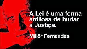 A diferença entre a lei e a Justiça...
