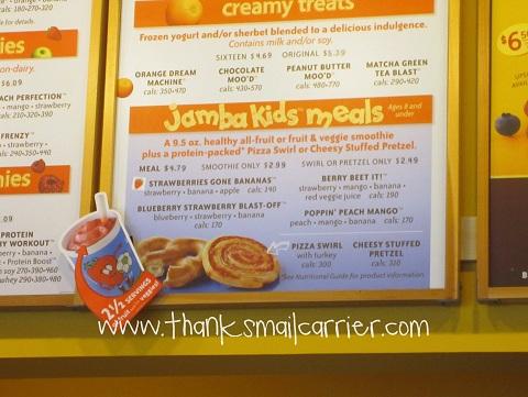 Jamba Kids Meals