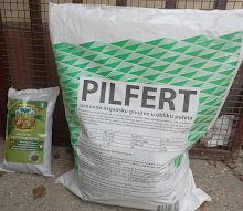 """Pilfert"" - Peletirano pileće organsko gnojivo sa zeolitom"