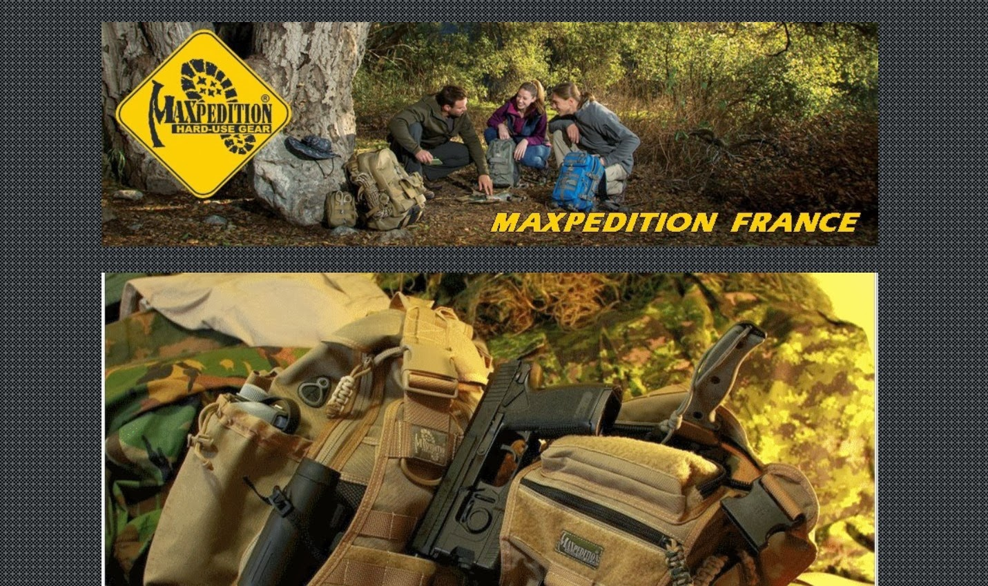 http://www.maxpedition.fr/