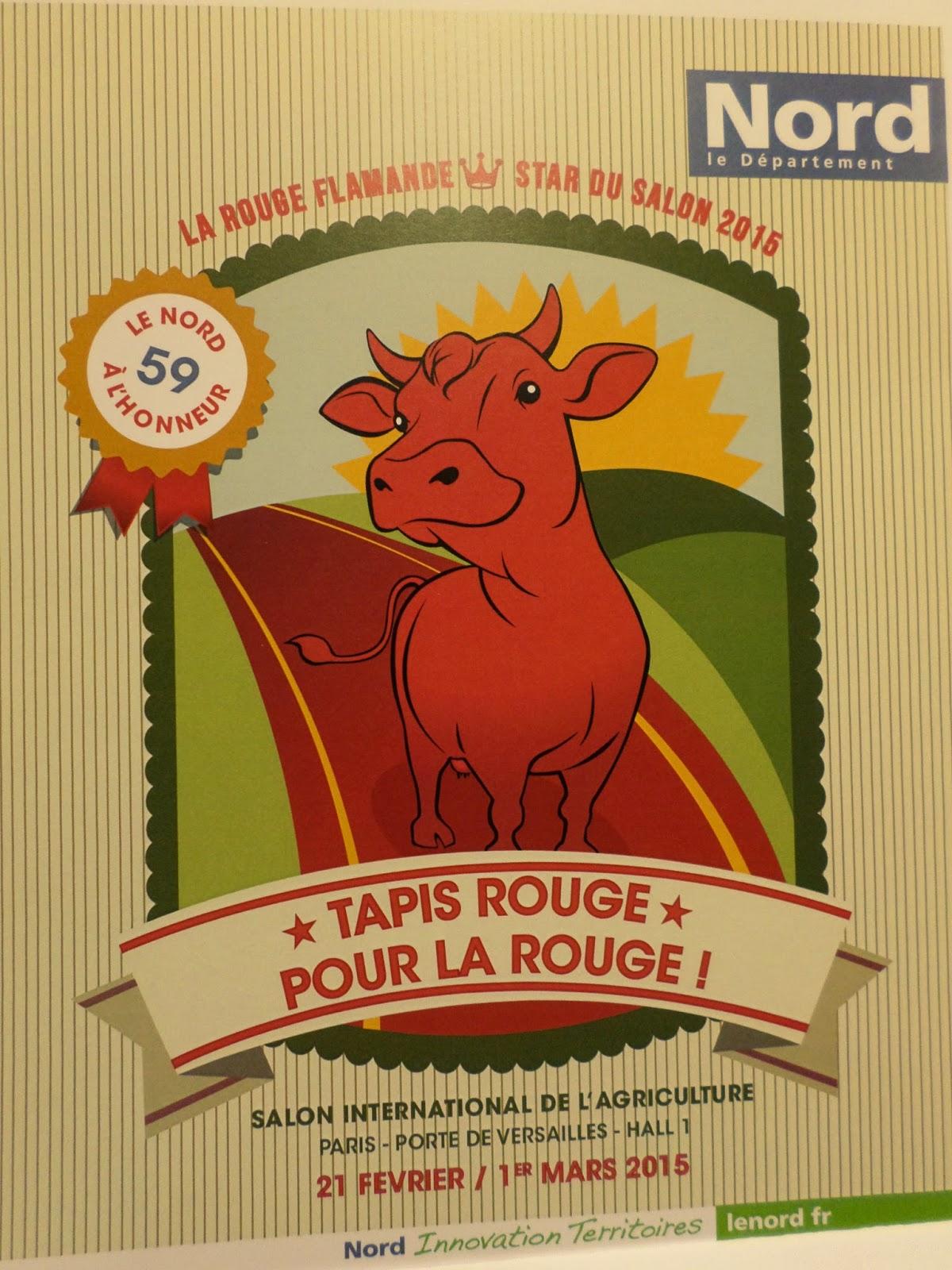 Genech dure et marion au salon 2015 01 11 - Salon agriculture paris 2015 ...