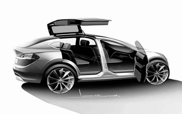 2015 tesla model x review and price car daily new. Black Bedroom Furniture Sets. Home Design Ideas