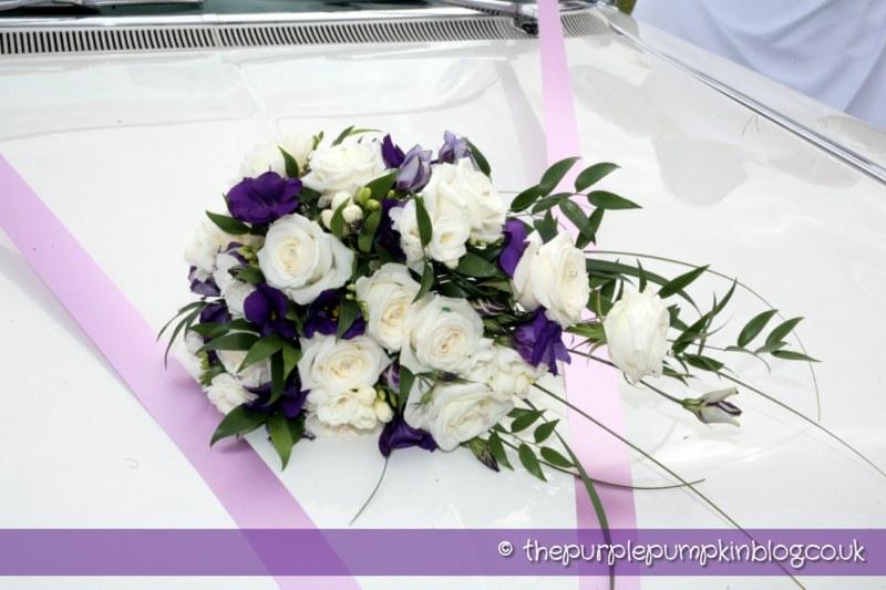 Our Wedding Flowers The Purple Pumpkin Blog
