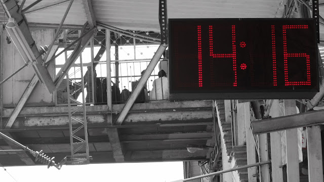 Indian Railways Station Clock