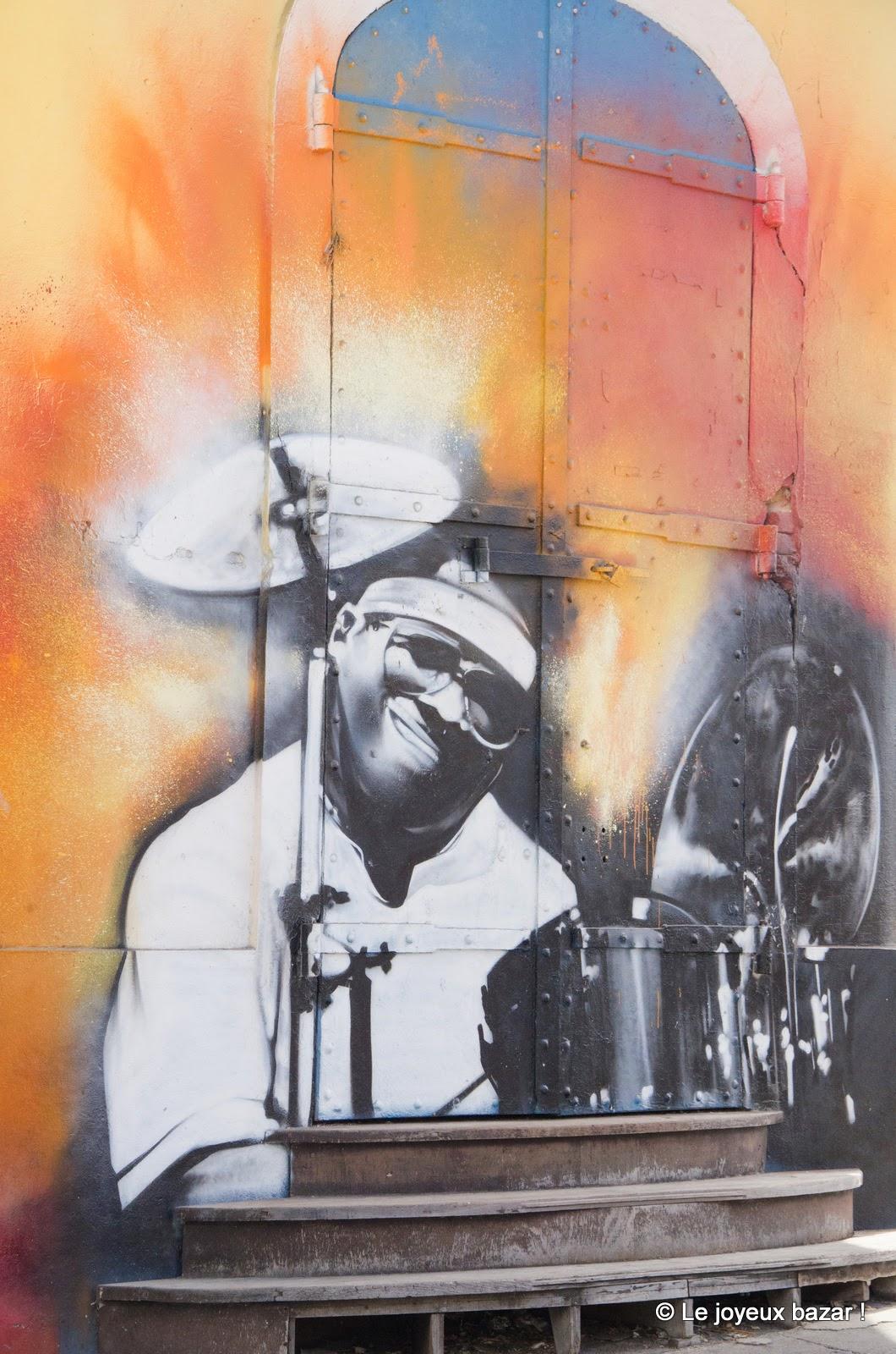 Guadeloupe - Pointe à Pitre - street art