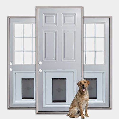 Equus villa farm fun with doors for Dog door for garage door