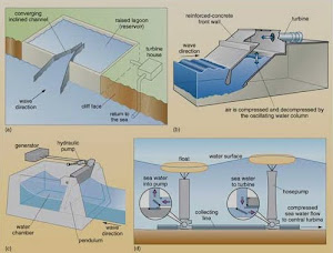 Varieties of Wave Energy Device