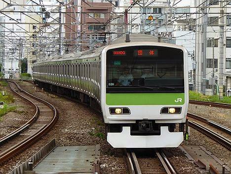 山手線 団体列車 E231系500番台