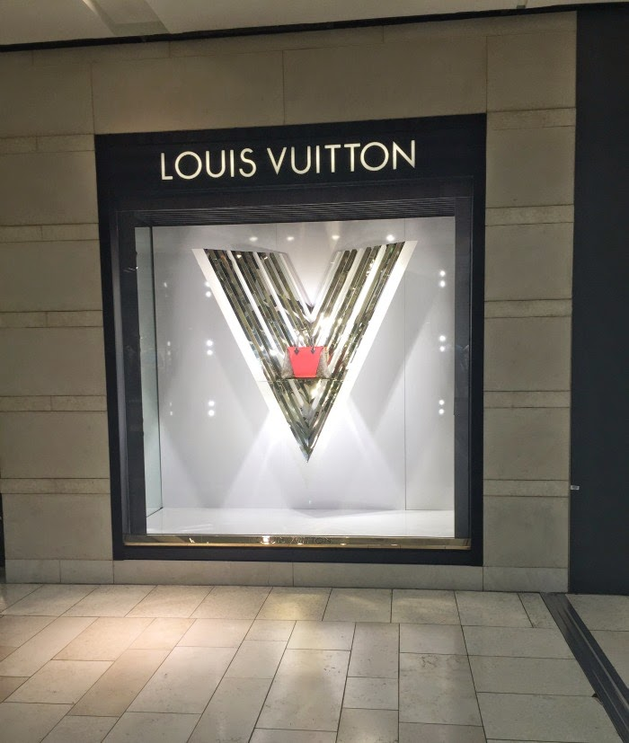Louis Vuitton at the Galleria Dallas.
