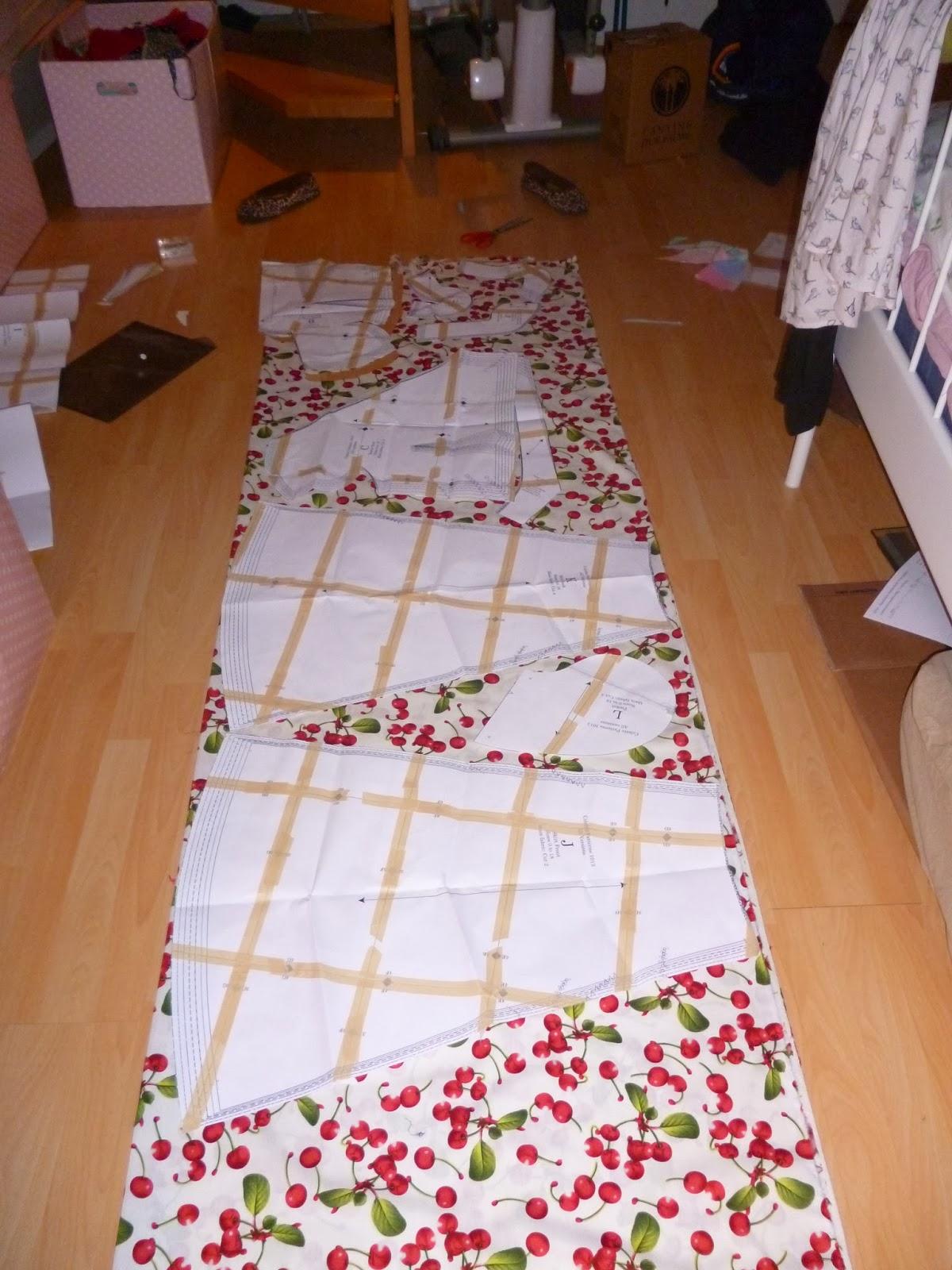 LeoLilie: Making of the Crepe Dress (Teil 1)