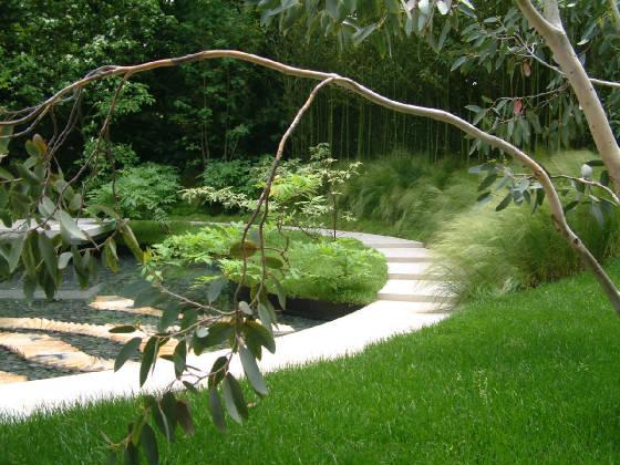 El agua en fuentes feng shui jard n feng shui - Jardin feng shui ...