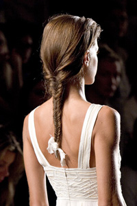 Этапы плетения косы