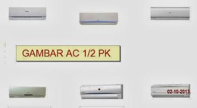 Daftar Harga AC Split ½ PK Baru