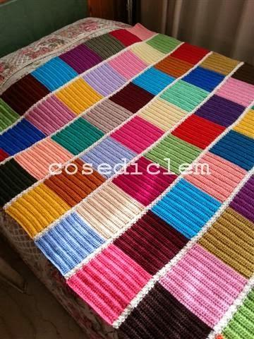 Coperte patchwork schemi