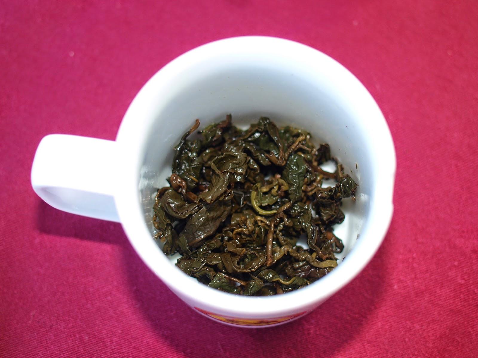 永隆鳳凰社區比賽茶 葉底