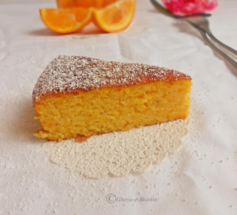 Orange Cake Made With Almond Flour