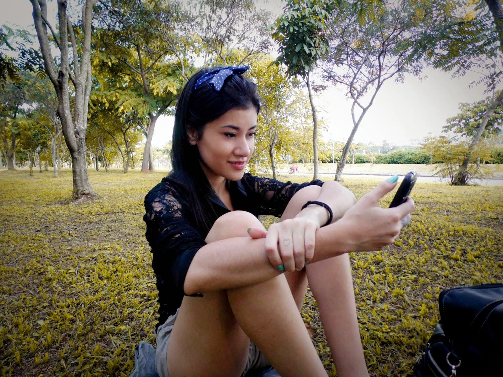 como tirar foto com celular