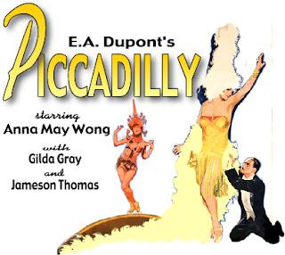 Original Film Poster Picadilly 1929 movieloversreviews.blogspot.com