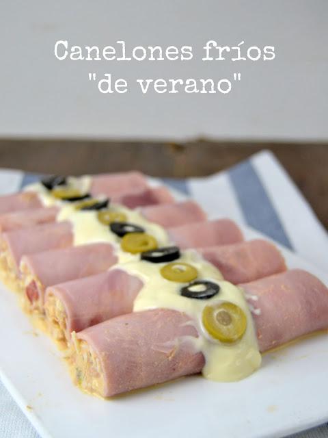 """Canelones Fríos """"de Verano"""""""