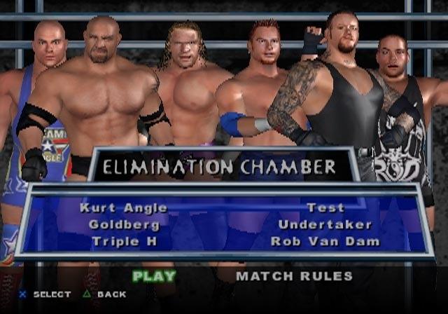 3D Smack Down Raw Güreşi Oyunu