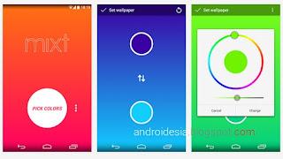 Mixt - Aplikasi Android untuk Membuat Wallpaper