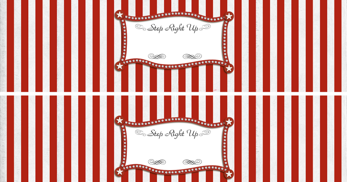 gartner labels templates - bringing home ezra more carnival party ideas and